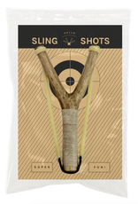 Walnut Tree Branch: No. 4 Slingshot Toy