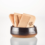 Raw Wood Beard Comb