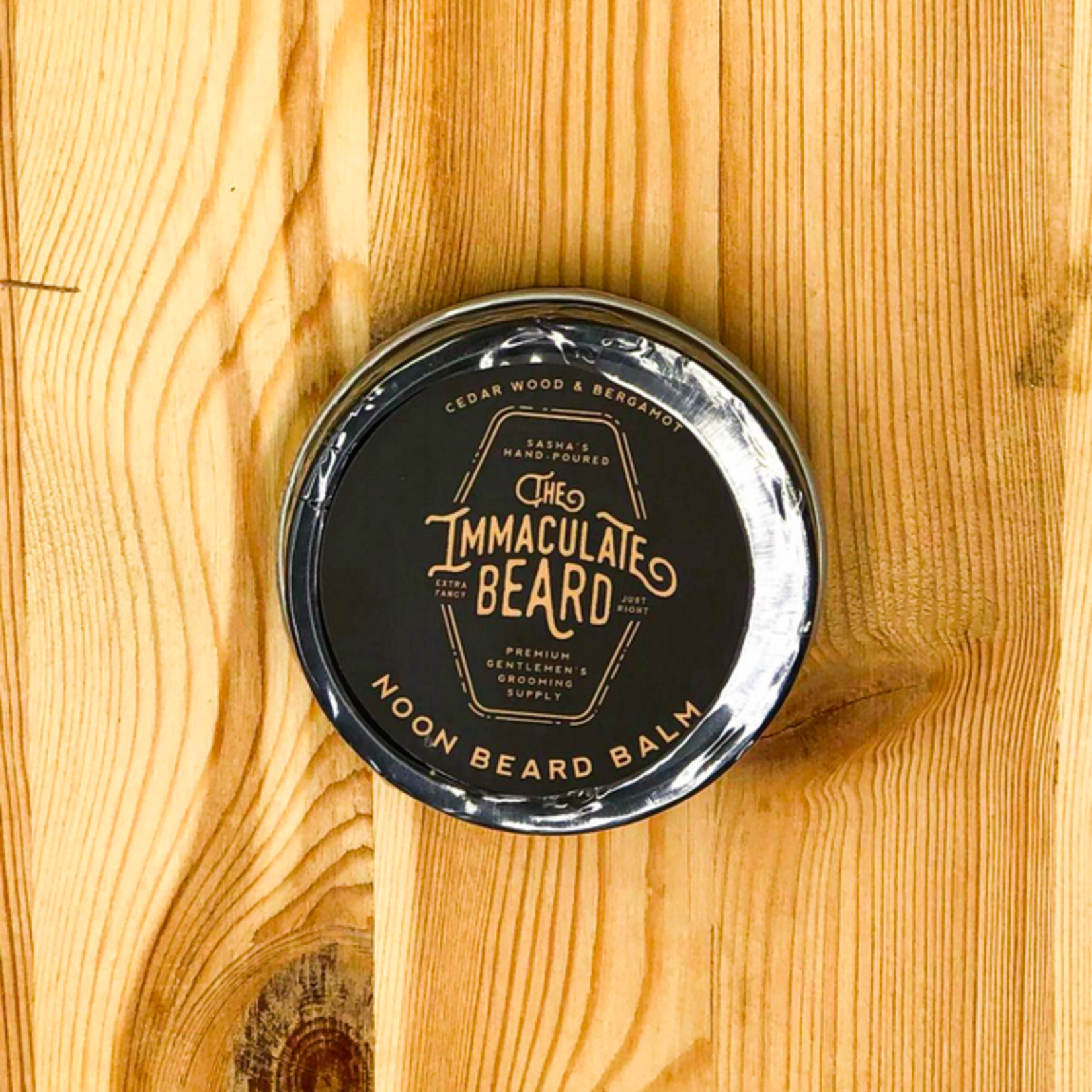 Noon: Cedarwood + Bergamot Beard Balm