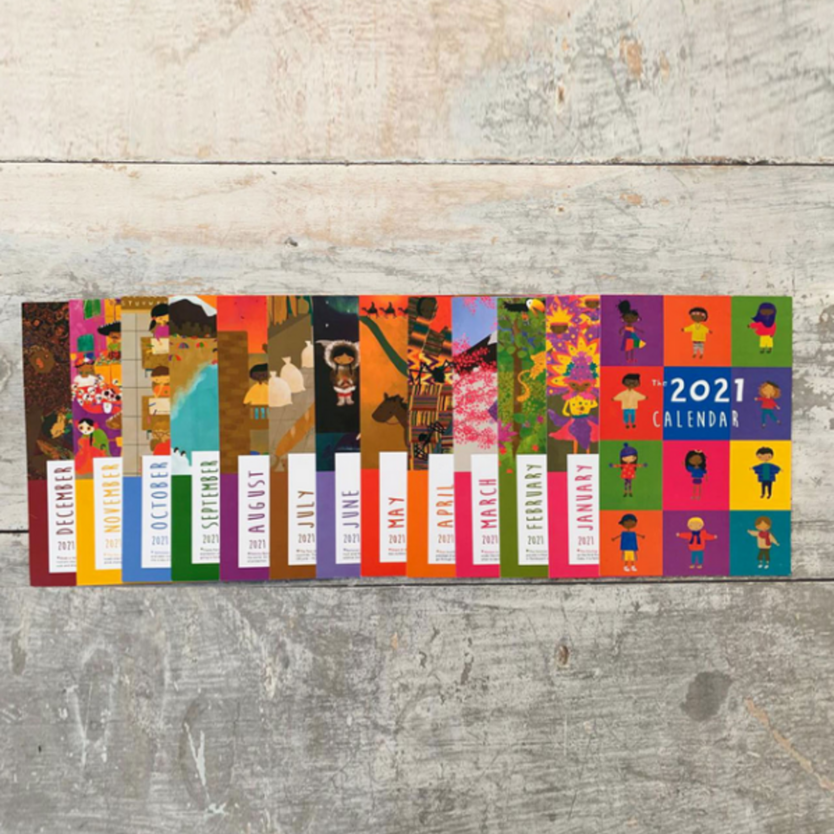 The Book Of Cultures: 2021 Mini Calendar