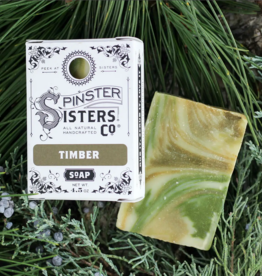 Spinster Sisters Co. Timber: Bar Soap