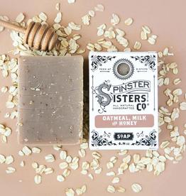 Spinster Sisters Co. Oatmeal, Milk + Honey Bar Soap