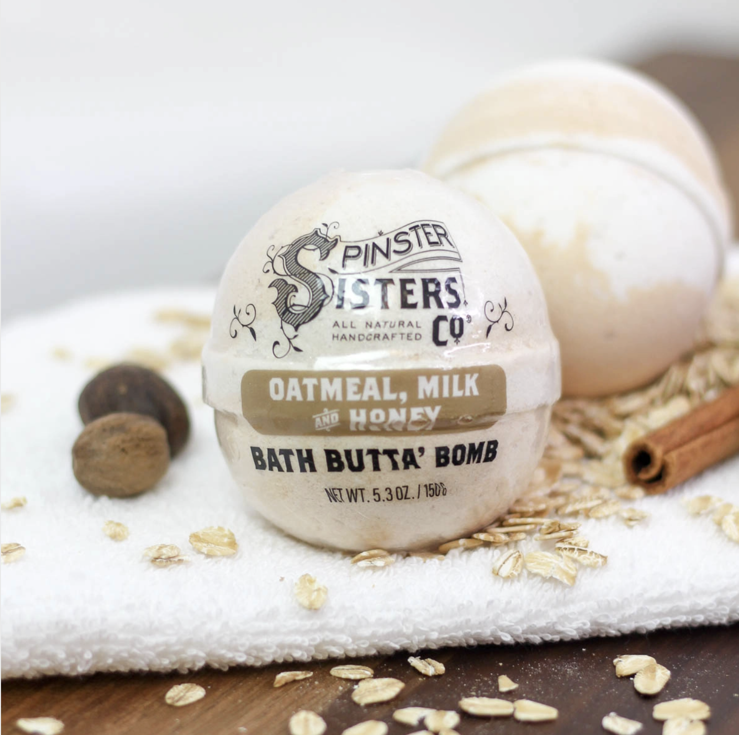 Spinster Sisters Co. SS Co. Bath Butta' Bomb