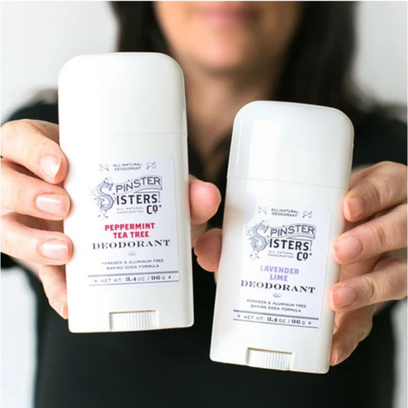 Spinster Sisters Co. SS Co. Deodorant