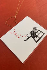 Paper Michelle Heart Thief Greeting Card