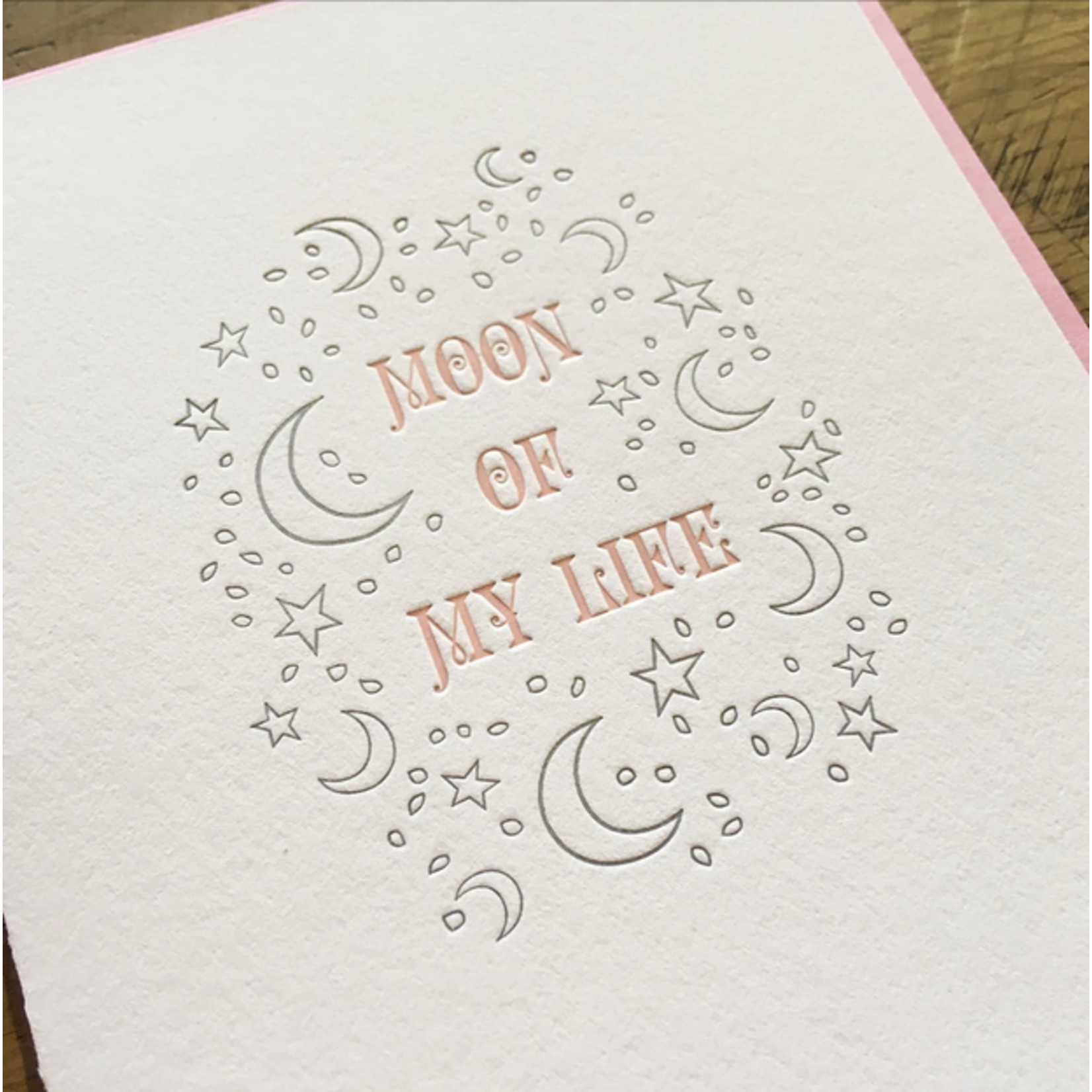 Green Bird Press Game Of Thrones: Moon Of My Life Letterpress Greeting Card