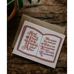 Free Period Press Happily Ever After Healthy Love Valentine Greeting Card