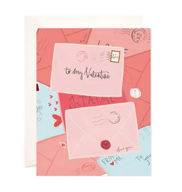 Bloomwolf Studio Valentine's Day Mail Greeting Card