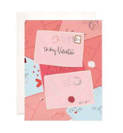 Bloomwolf Studio Valentine's Day Mail Greeting Card