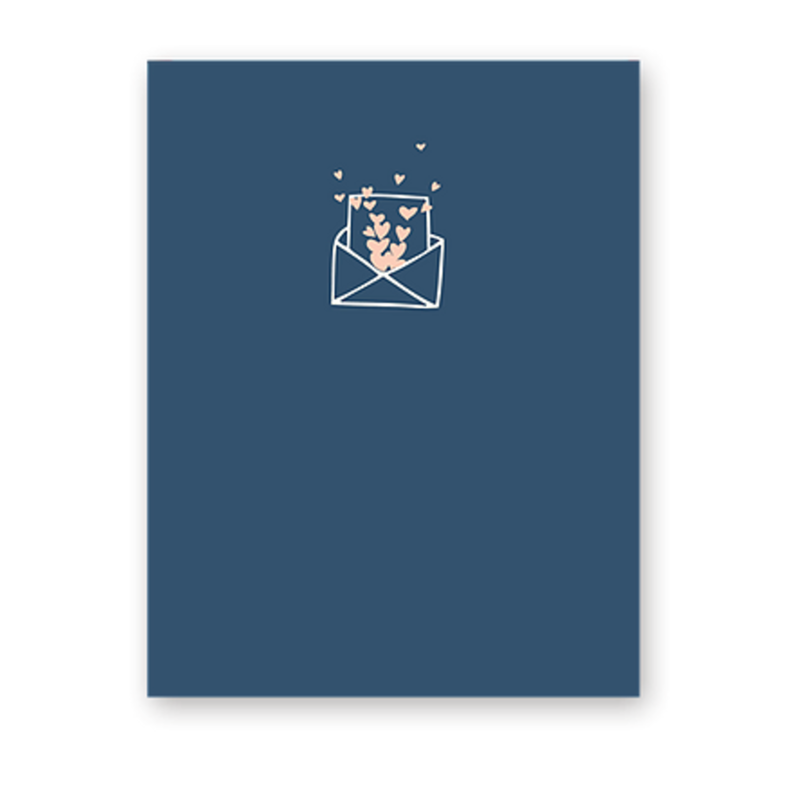 Haven Paperie Tiny Envelope Hearts Greeting Card