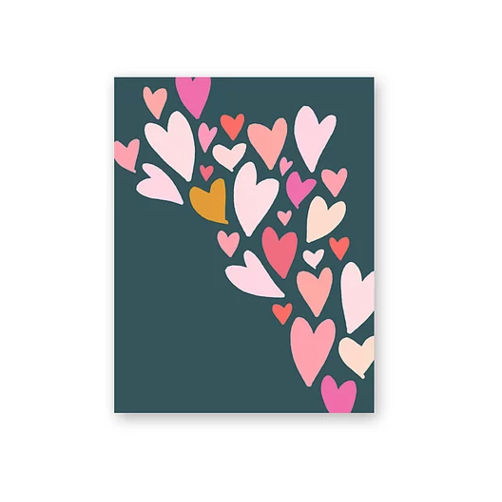 Haven Paperie Hearts Flow (Navy) Greeting Card