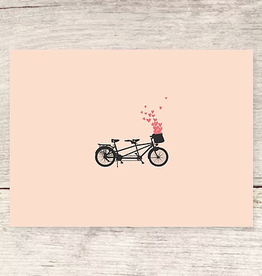 Haven Paperie Bicycle Hearts Greeting Card