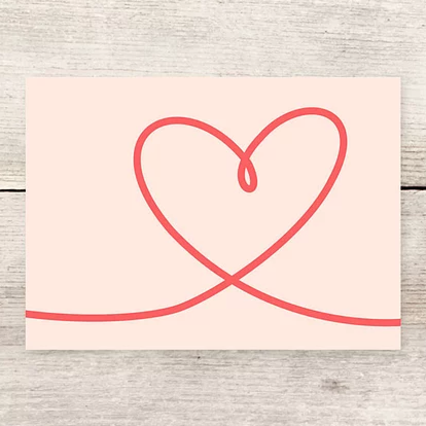 Haven Paperie Heart Swash Greeting Card