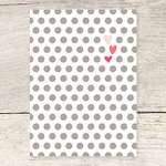 Haven Paperie Dots & Hearts Greeting Card