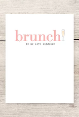 Haven Paperie Brunch Love Language Greeting Card