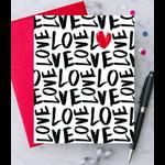 Design With Heart (QO) Handwritten Love Greeting Card