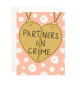 Bloomwolf Studio Partners In Crime Necklace Greeting Card
