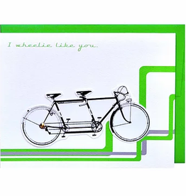 Cracked Designs I Wheelie Like You Greeting Card