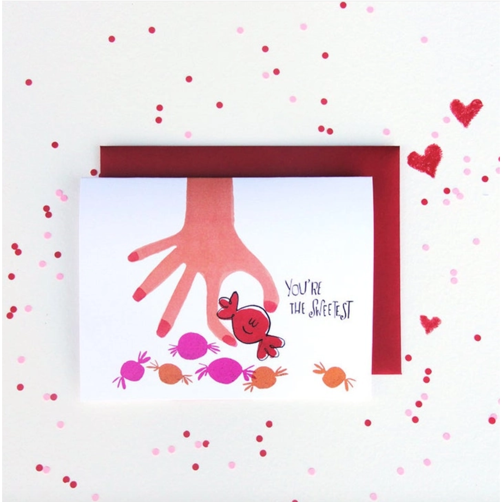 An Open Sketchbook You're the Sweetest Greeting Card