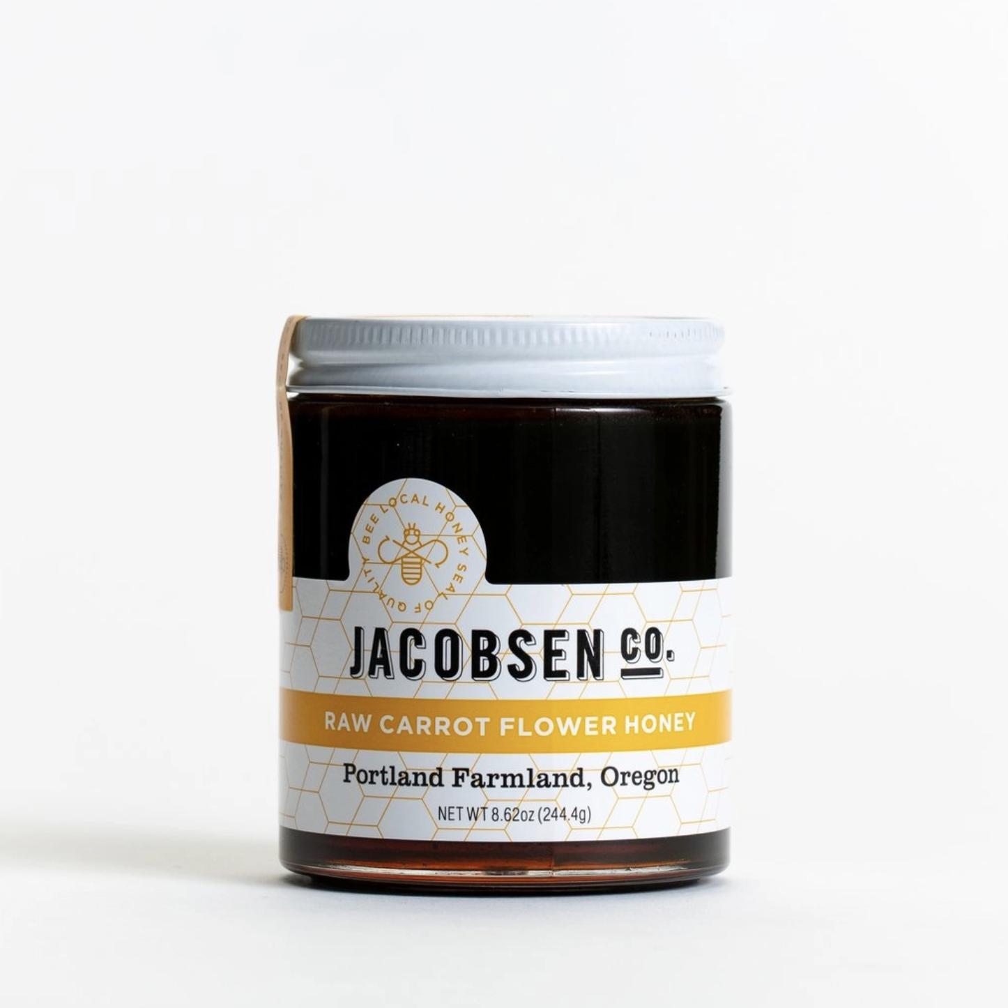 Jacobsen Salt Co. Raw Carrot Flower Honey 8.62oz Jar