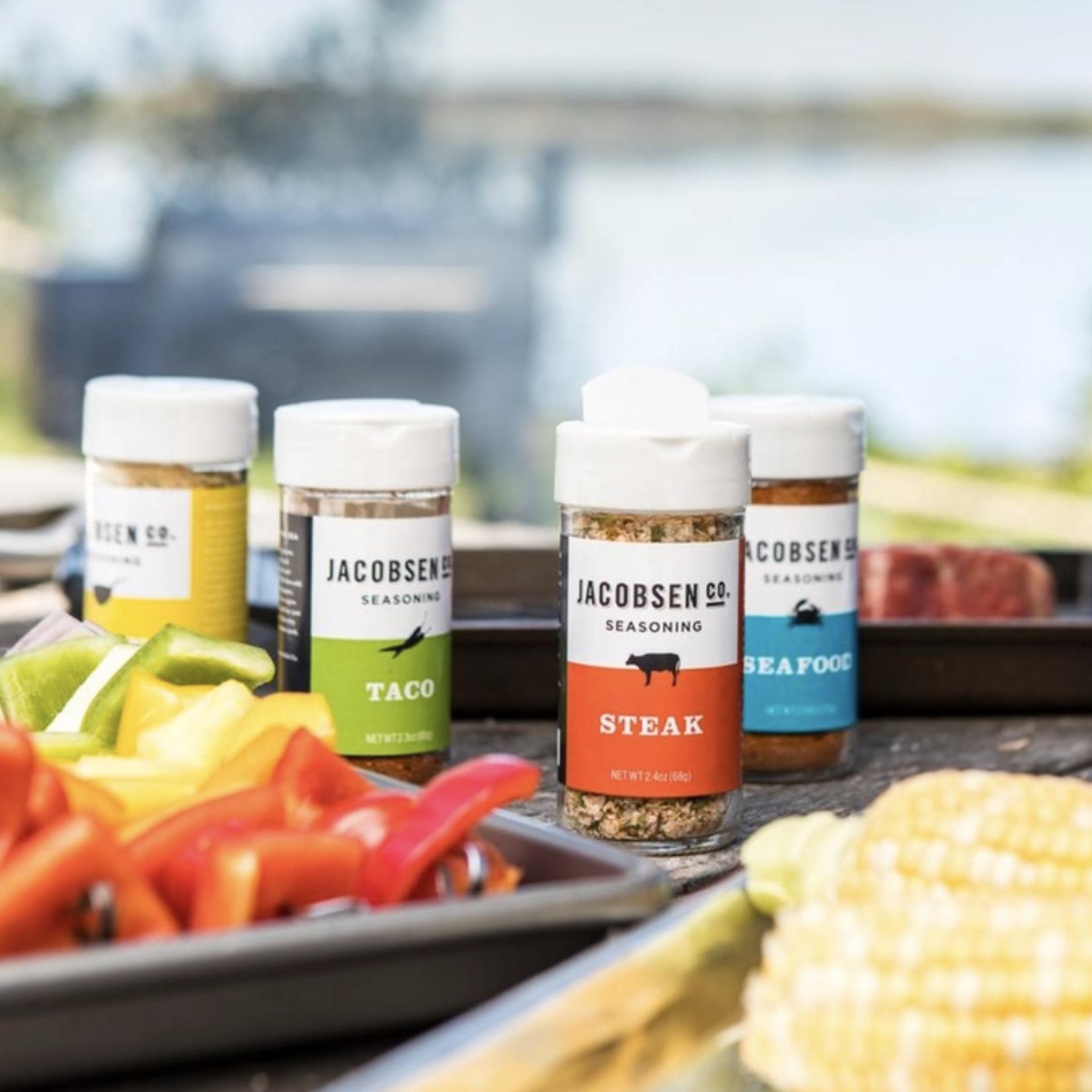 Jacobsen Salt Co. Seasoning Variety 4pc. Set