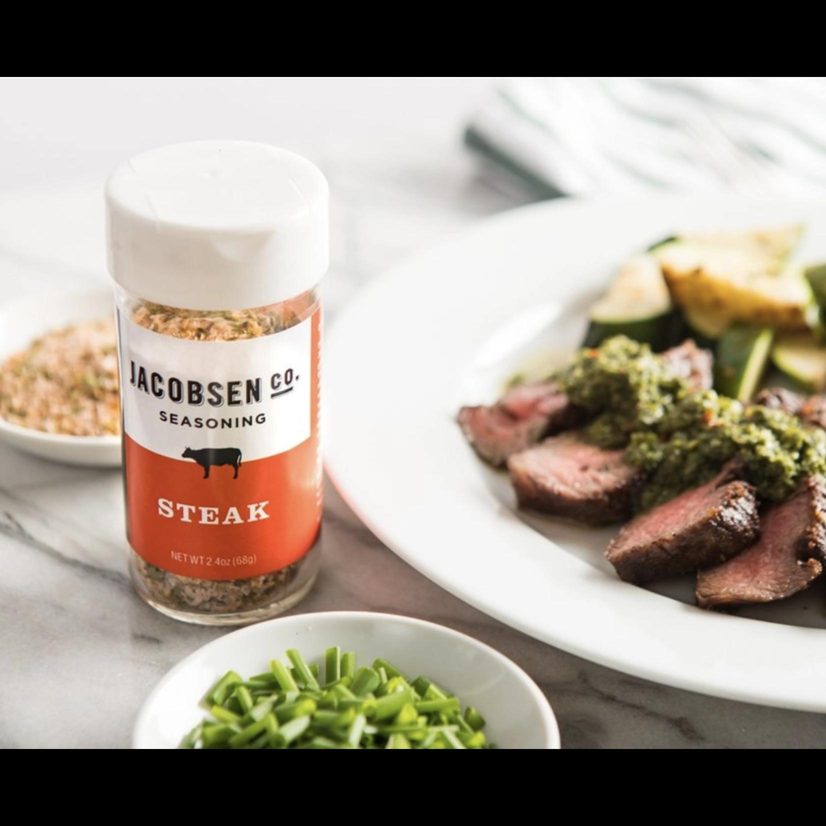 Jacobsen Salt Co. Steak 2.4oz Seasoning