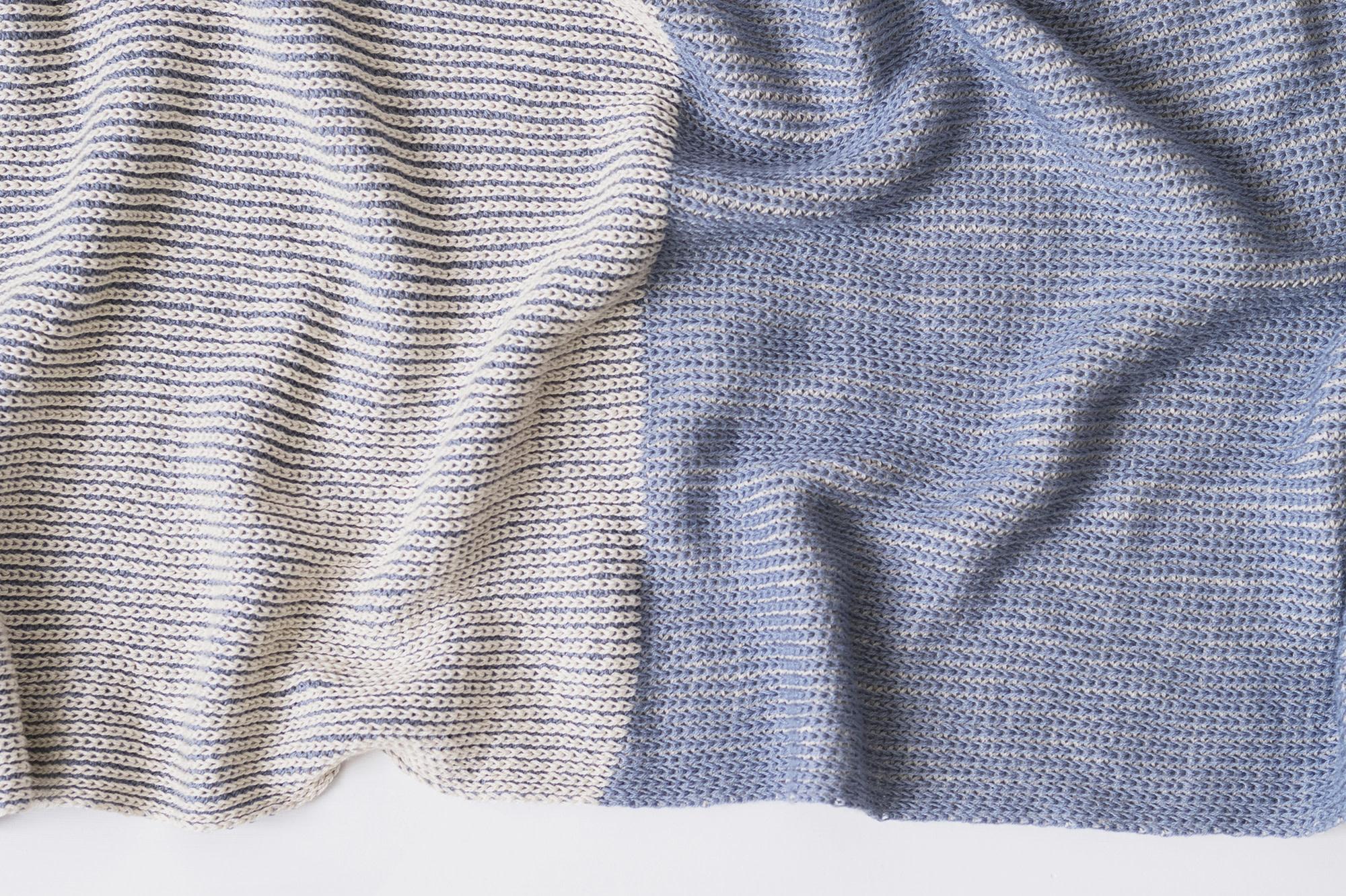 Echoview Fiber Mill Cotton Half + Half Scarf