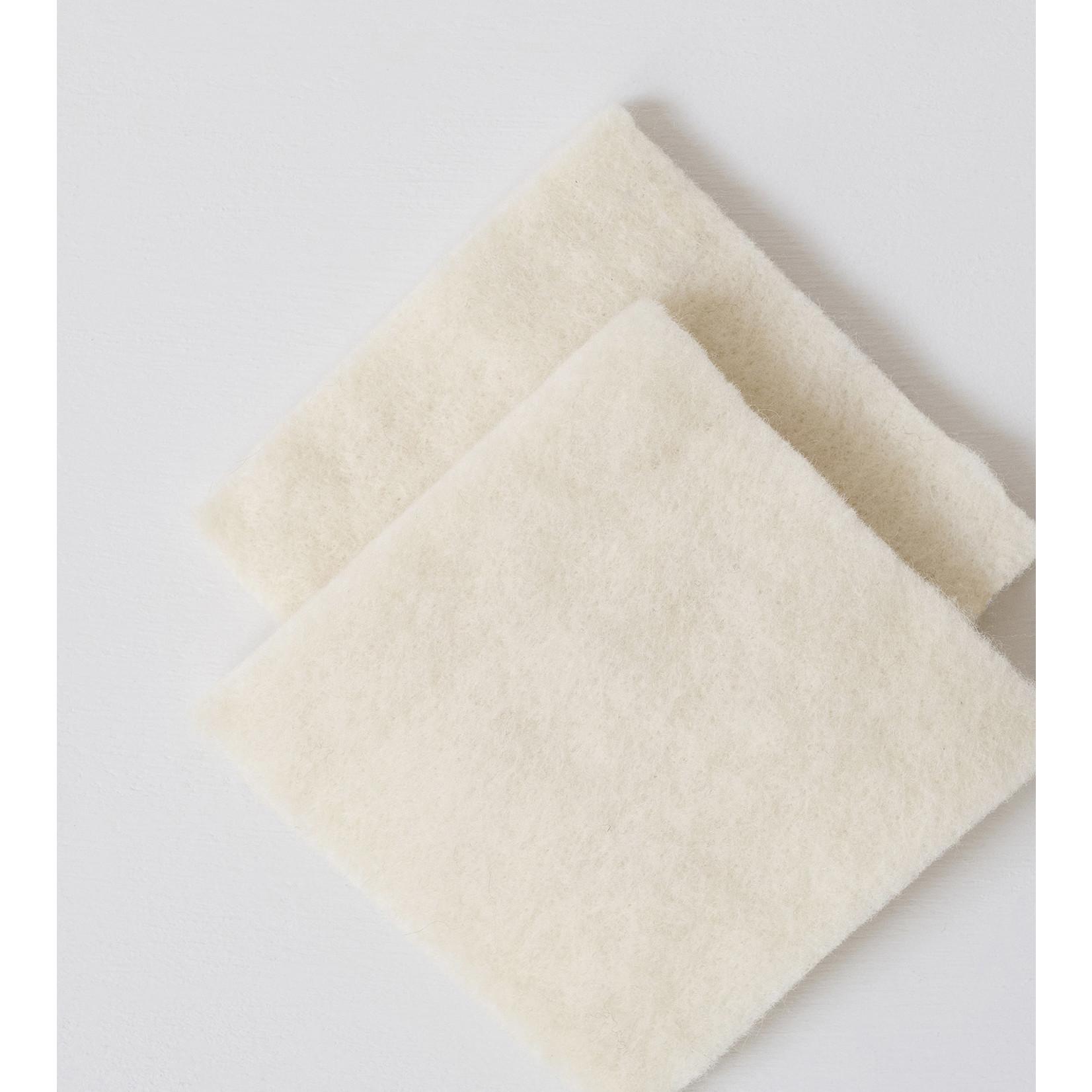 Echoview Fiber Mill Wool Dish Sponge 2pc. Set