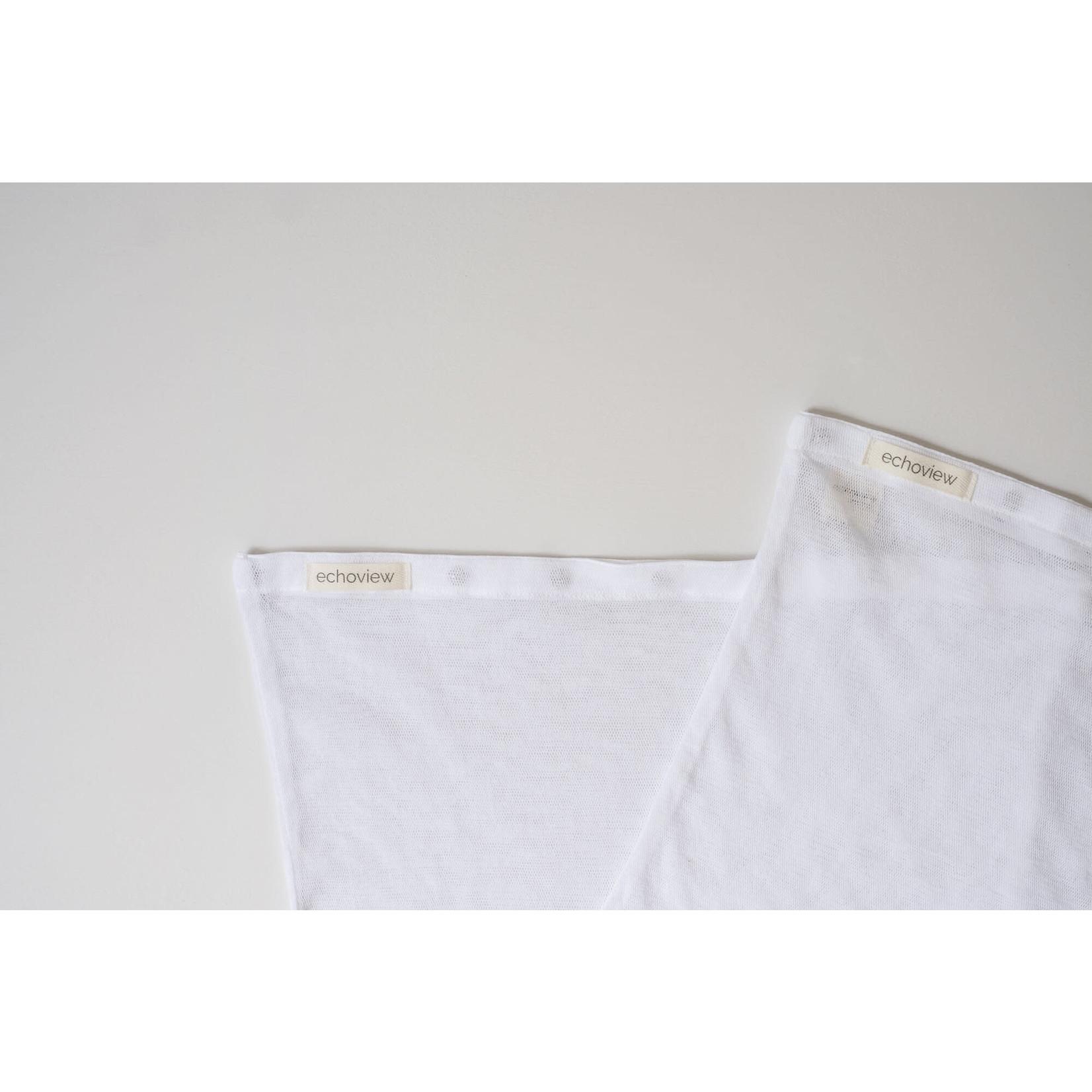Echoview Fiber Mill Cotton Mesh Delicates Laundry Bag