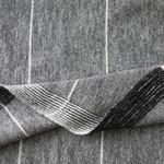Echoview Fiber Mill Black/Natural: Alpaca + Wool Long Lines Poncho