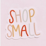 SHOP SMALL Lettering Sticker