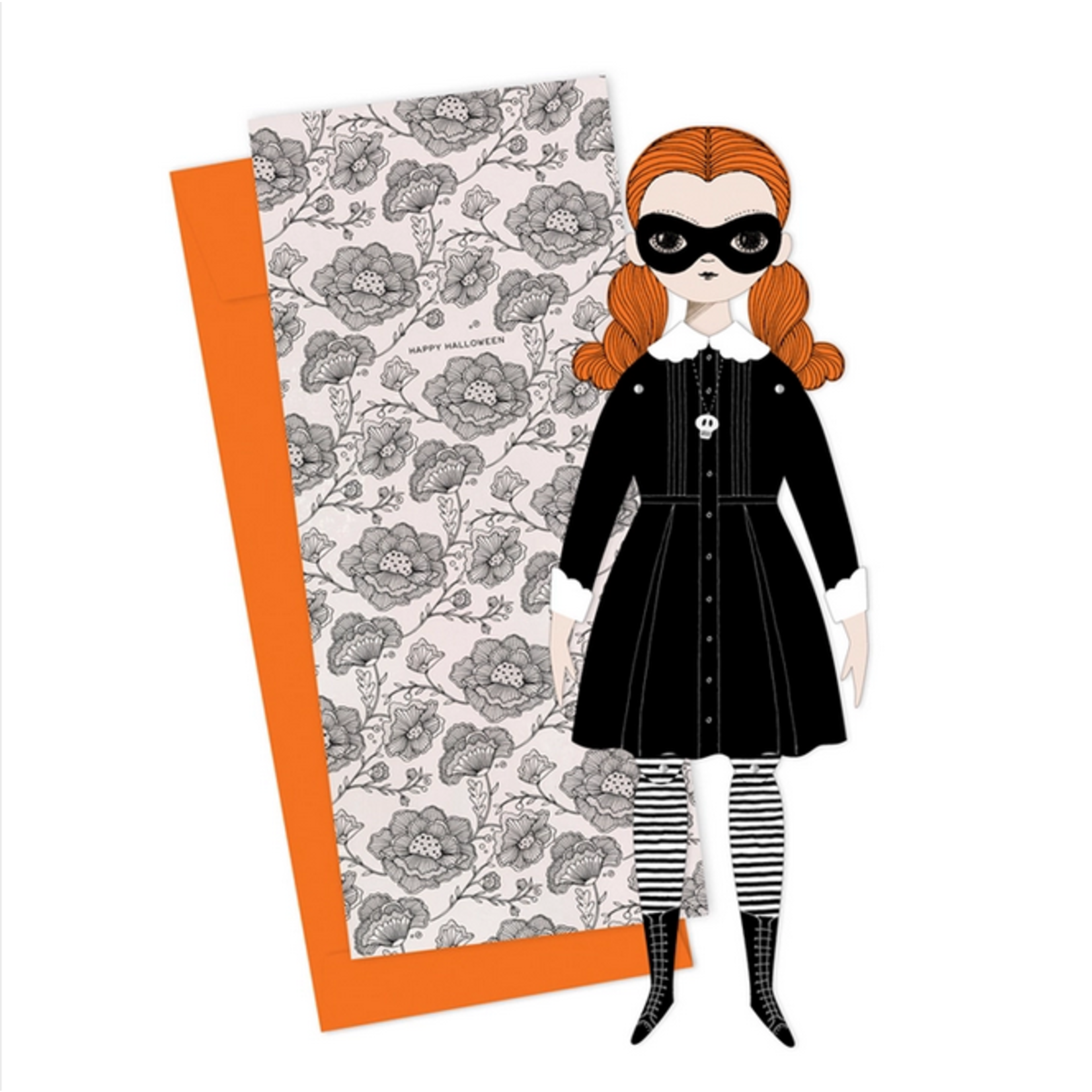 Of Unusual Kind OUK Paper Doll Card + Envelope