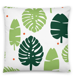 Tandem For Two / Gather Home Palms & Plants Pillows