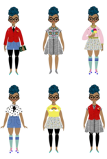 Of Unusual Kind OUK Paper Doll Kit