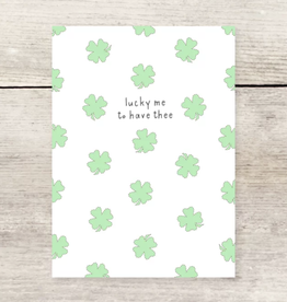 Haven Paperie Lucky Me Clovers Greeting Card