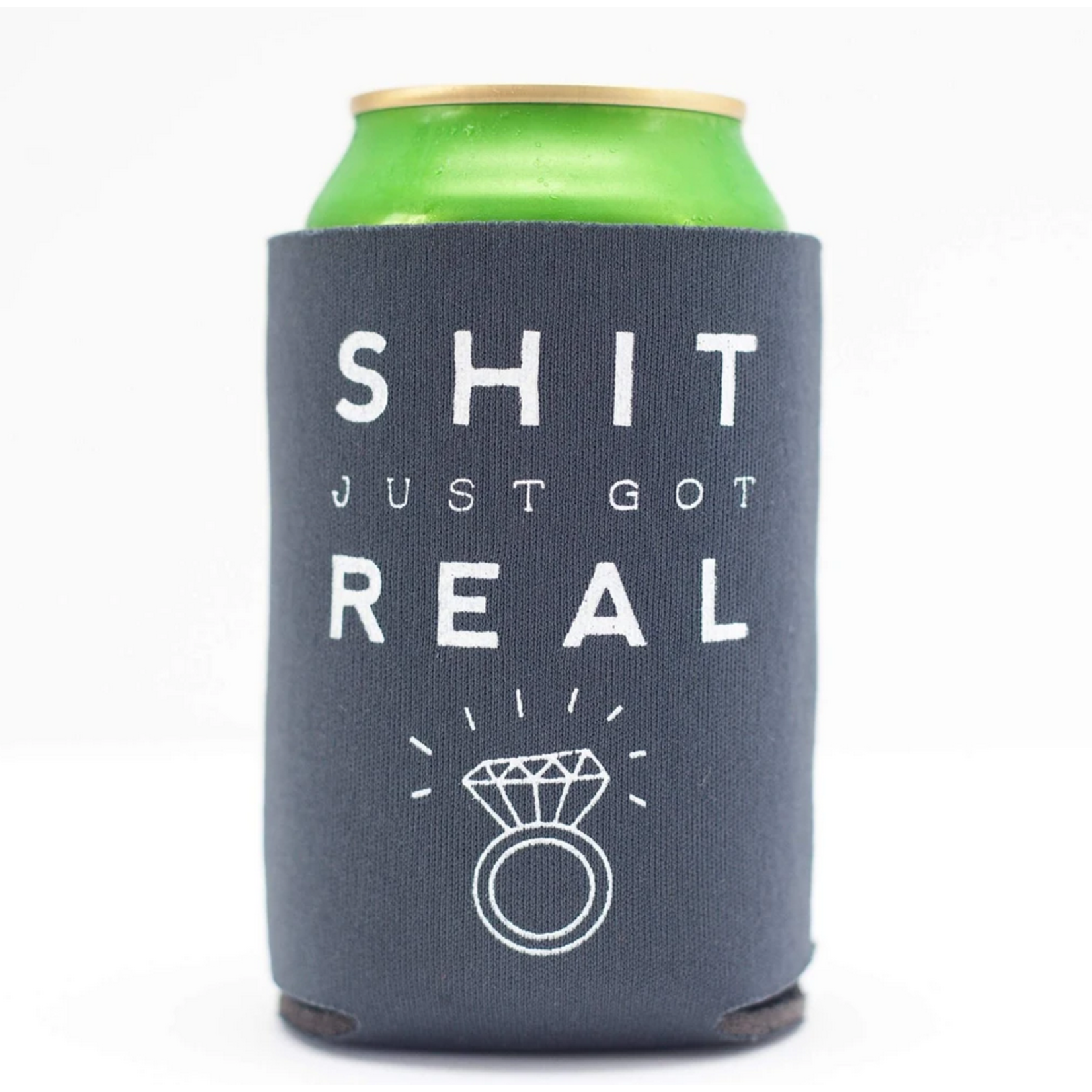 Exit343Design Wedding-Themed Can Koozies