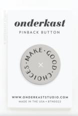 Onderkast Pinback Button