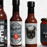Flavor & Fire Hot Sauce 5oz. Bottle