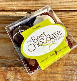 The Best Chocolate in Town (POC) Assorted Truffles 4pc. Box