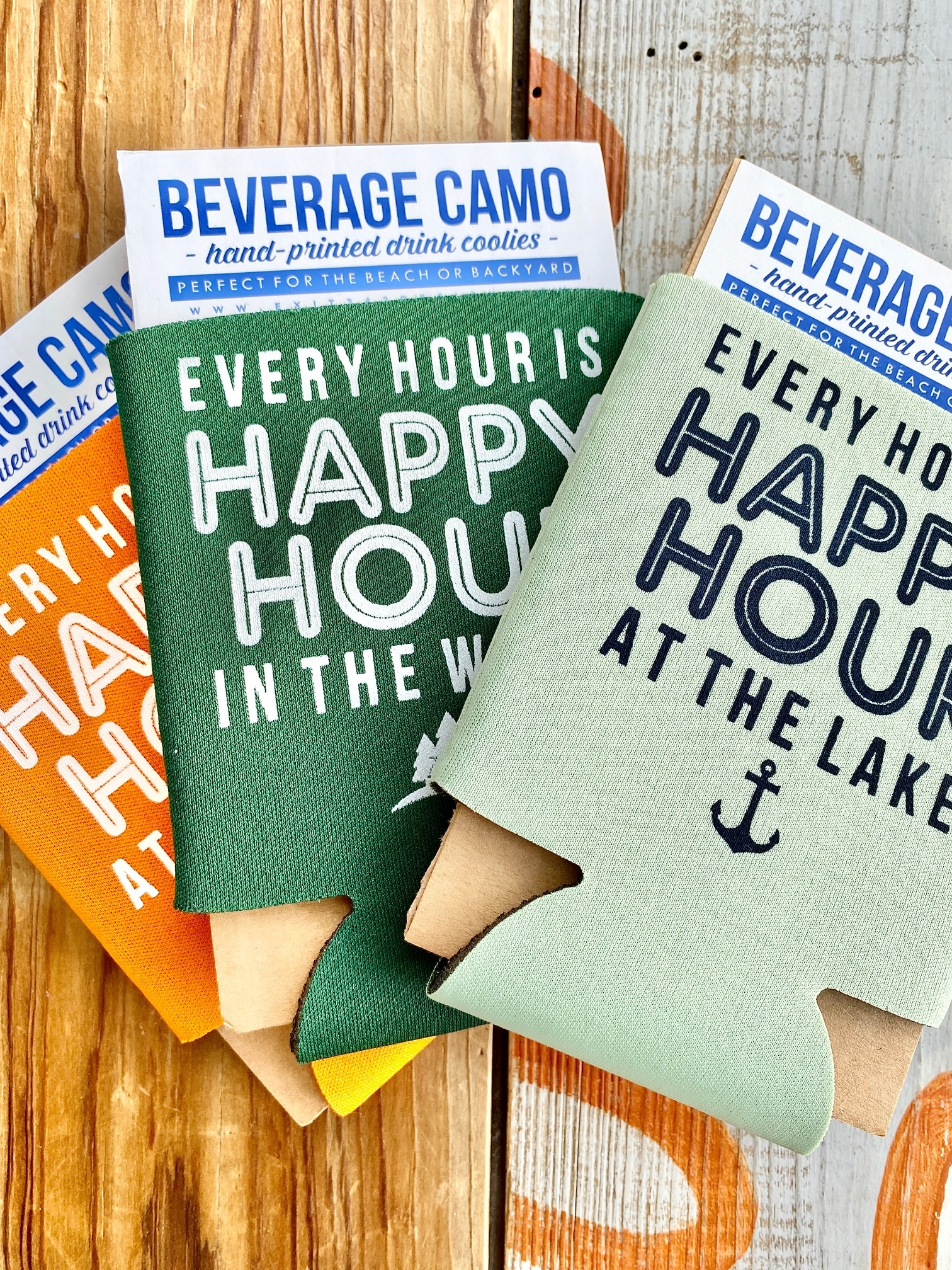 Exit343Design Every Hour Is Happy Hour Koozies