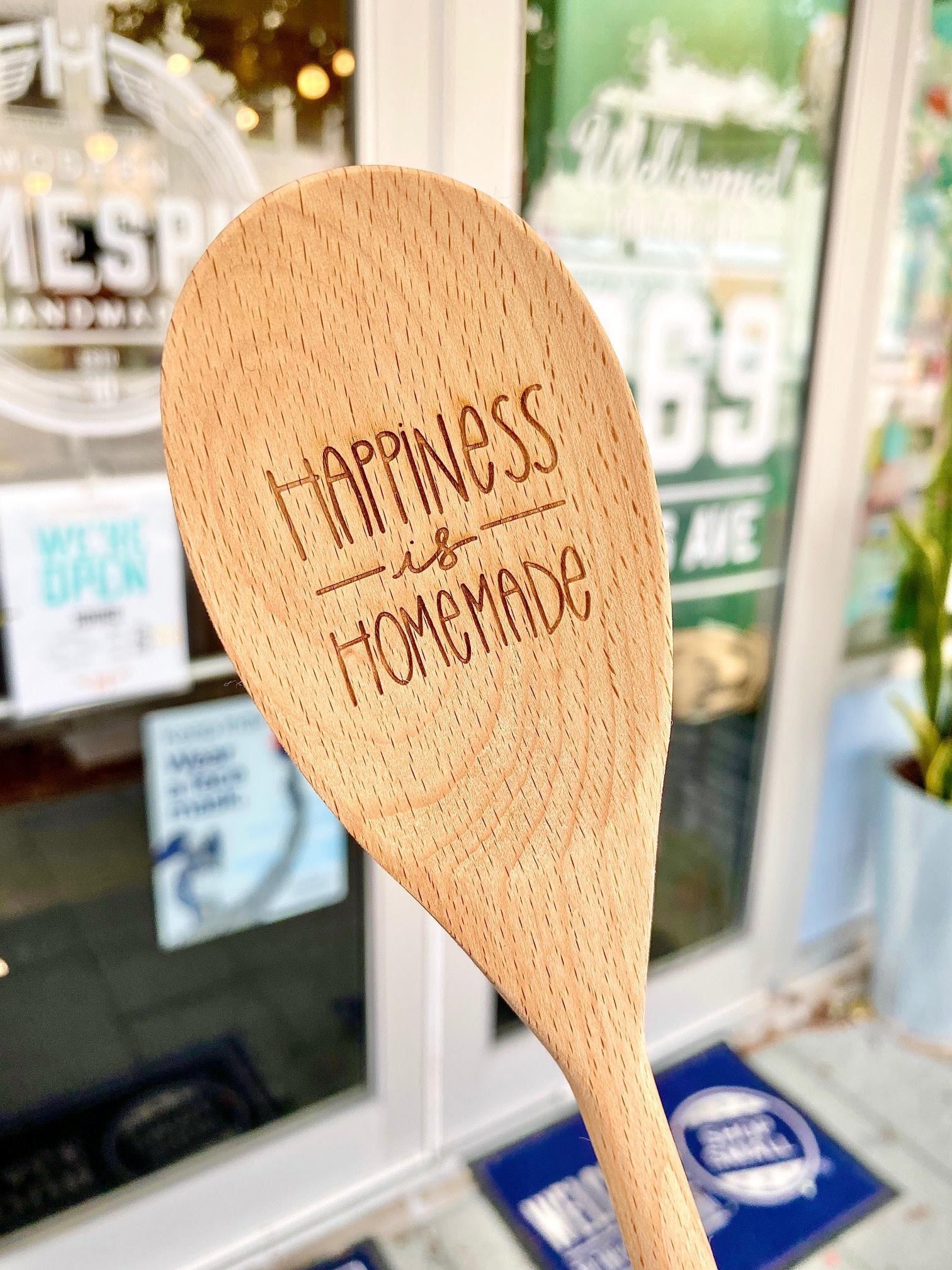 Hello World Paper Co. / The Homebody Society Homebody Society Wooden Spoons