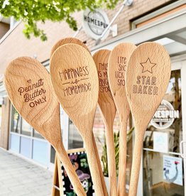 Hello World Paper Co. / The Homebody Society Homebody Society Wooden Spoons