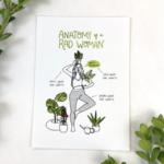 Christa Pierce Rad Woman Anatomy 8x10 Art Prints