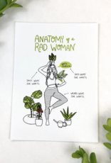 Christa Pierce Rad Woman Anatomy 8x10 Art Prints