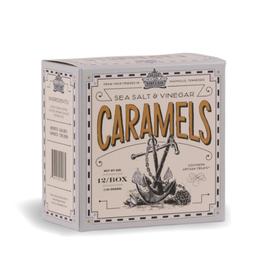 Sea Salt & Vinegar Caramels 5oz. Box
