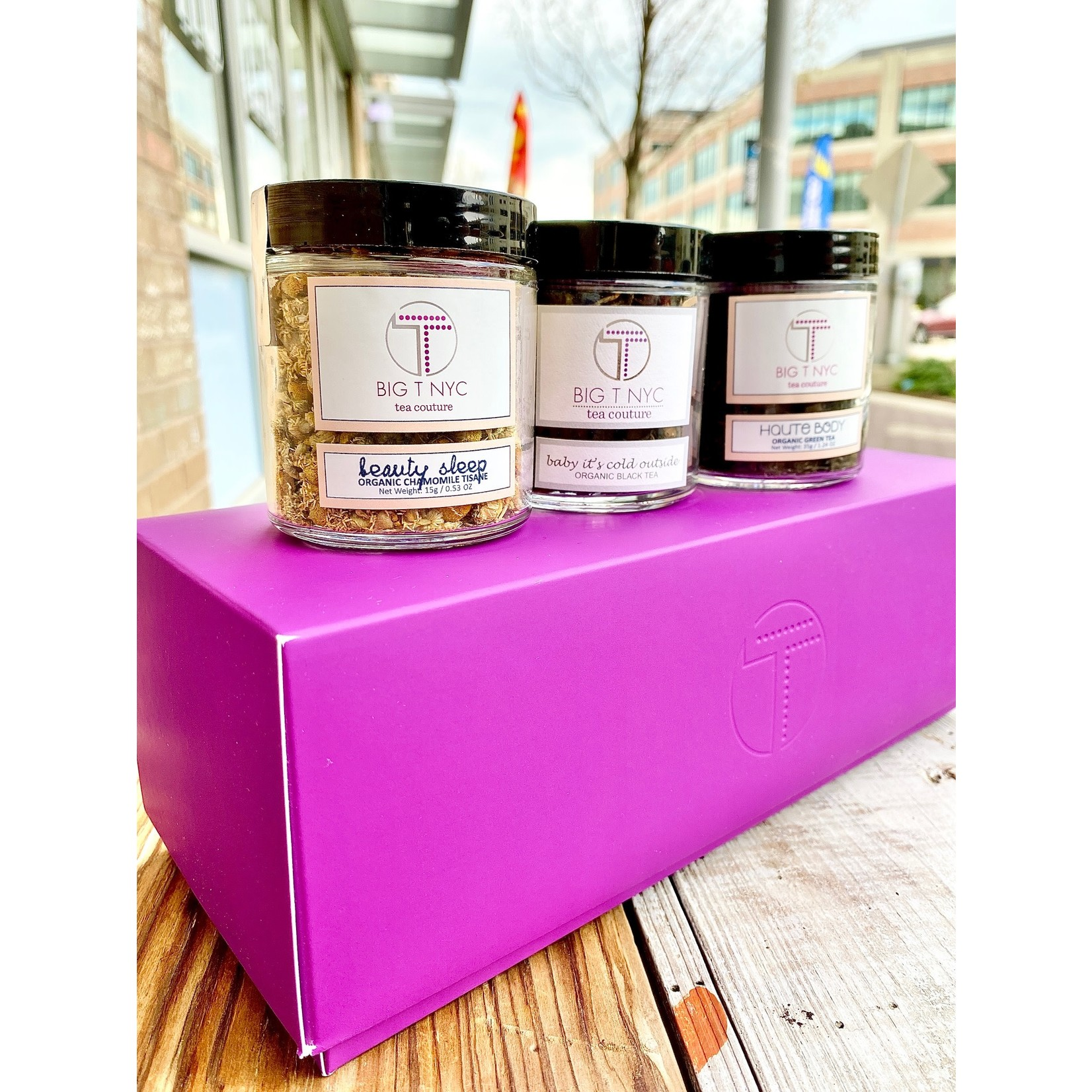 Big T NYC Organic Loose Leaf Tea Gift Set - Couture Collection
