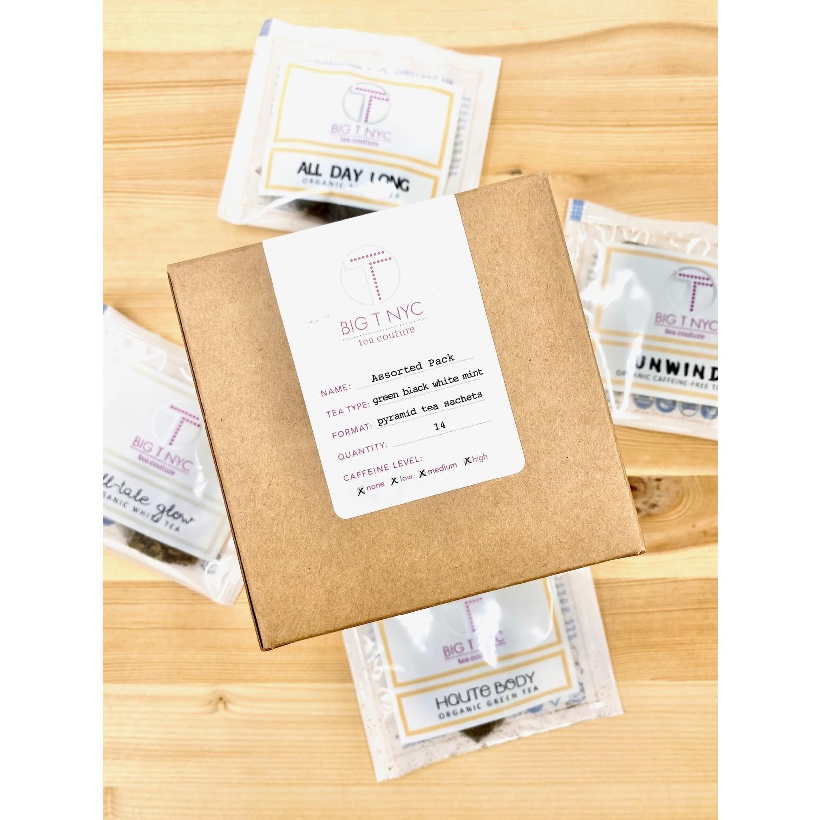 Big T NYC Assorted Tea Sachet 14pc. Sampler Box