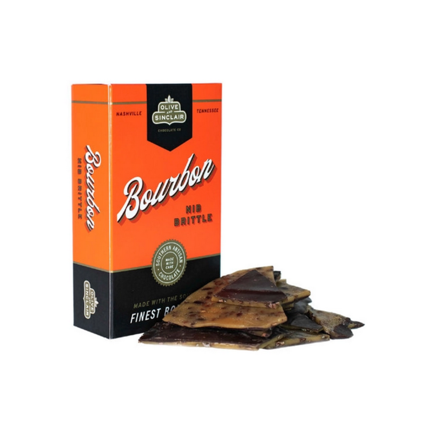 O & S Chocolate Nib Brittle