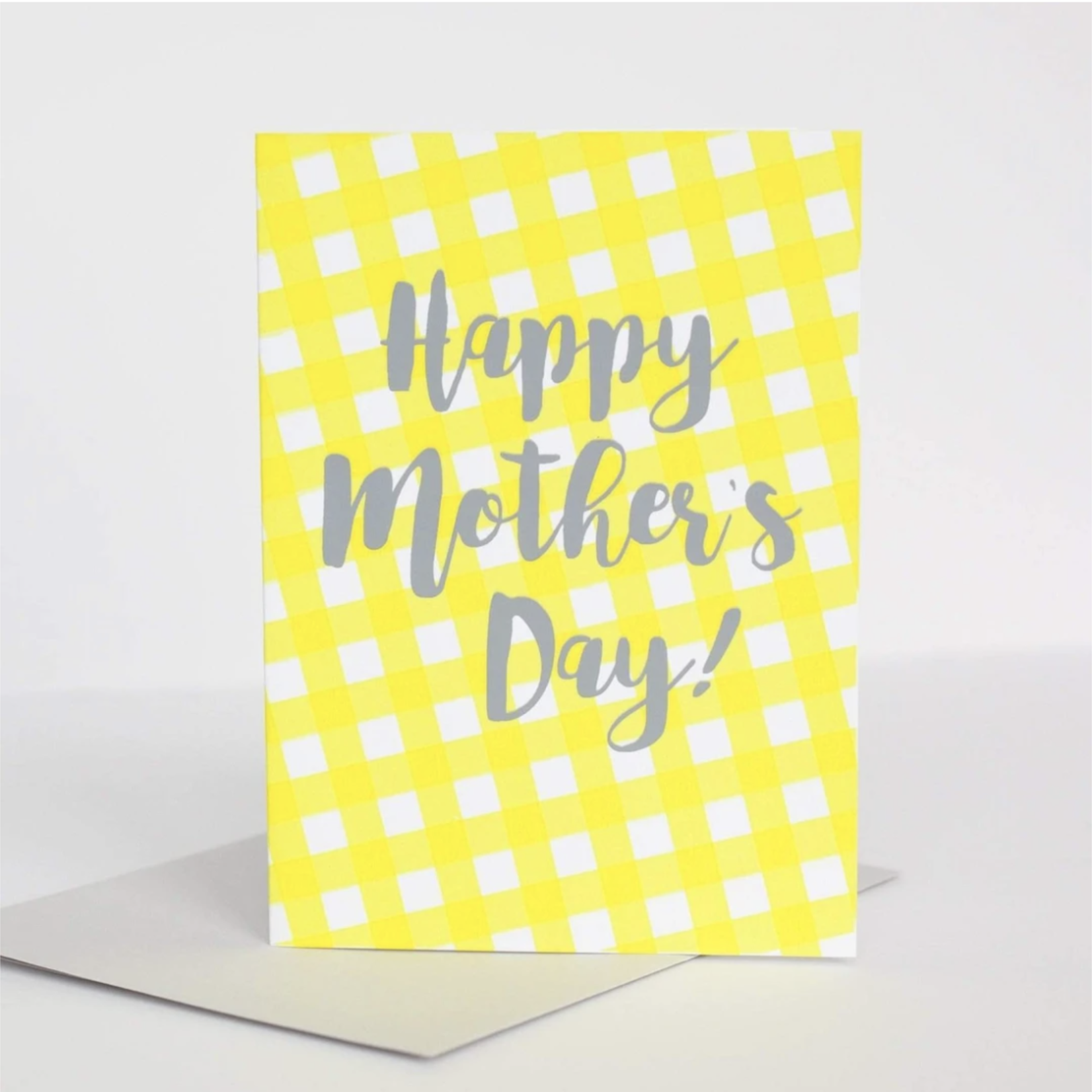 Exit343Design Mother's Day Gingham Greeting Card