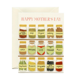 Mom's Spices Mother's Day Greeting Card